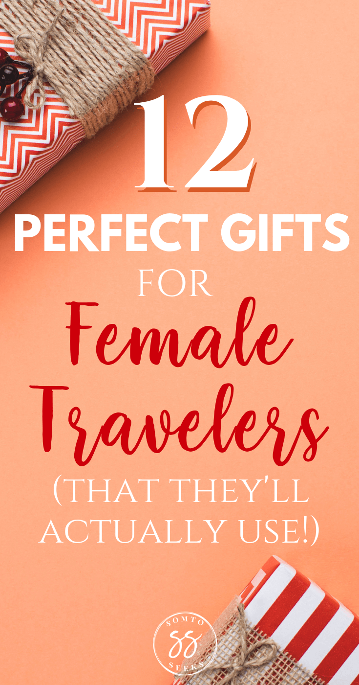 12 Perfect gifts for female travelers (that they'll actually use)
