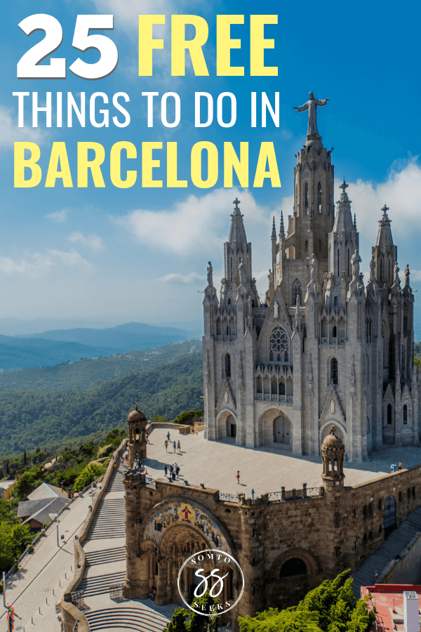 25 free things to do in Barcelona - Feature image