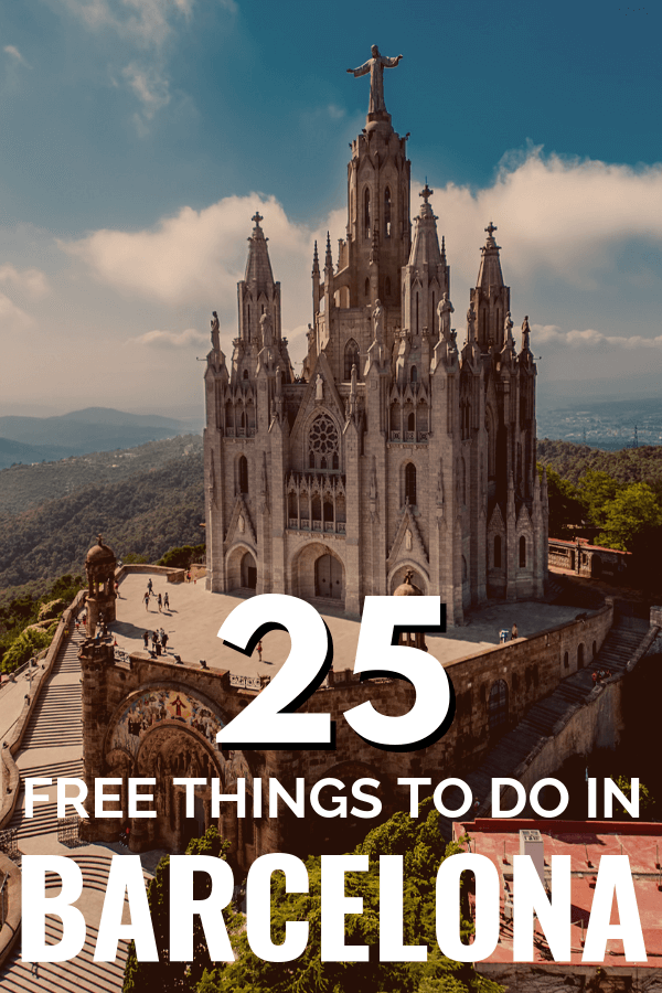 25 free things to do in Barcelona - Spain travel