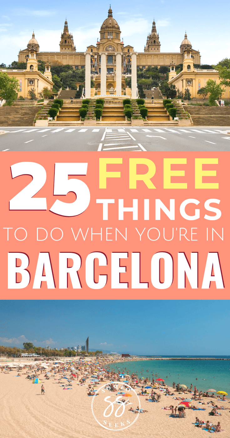 25 free things to do in Barcelona