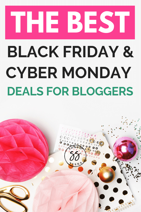 Black Friday and Cyber Monday deals for bloggers and online entrepreneurs