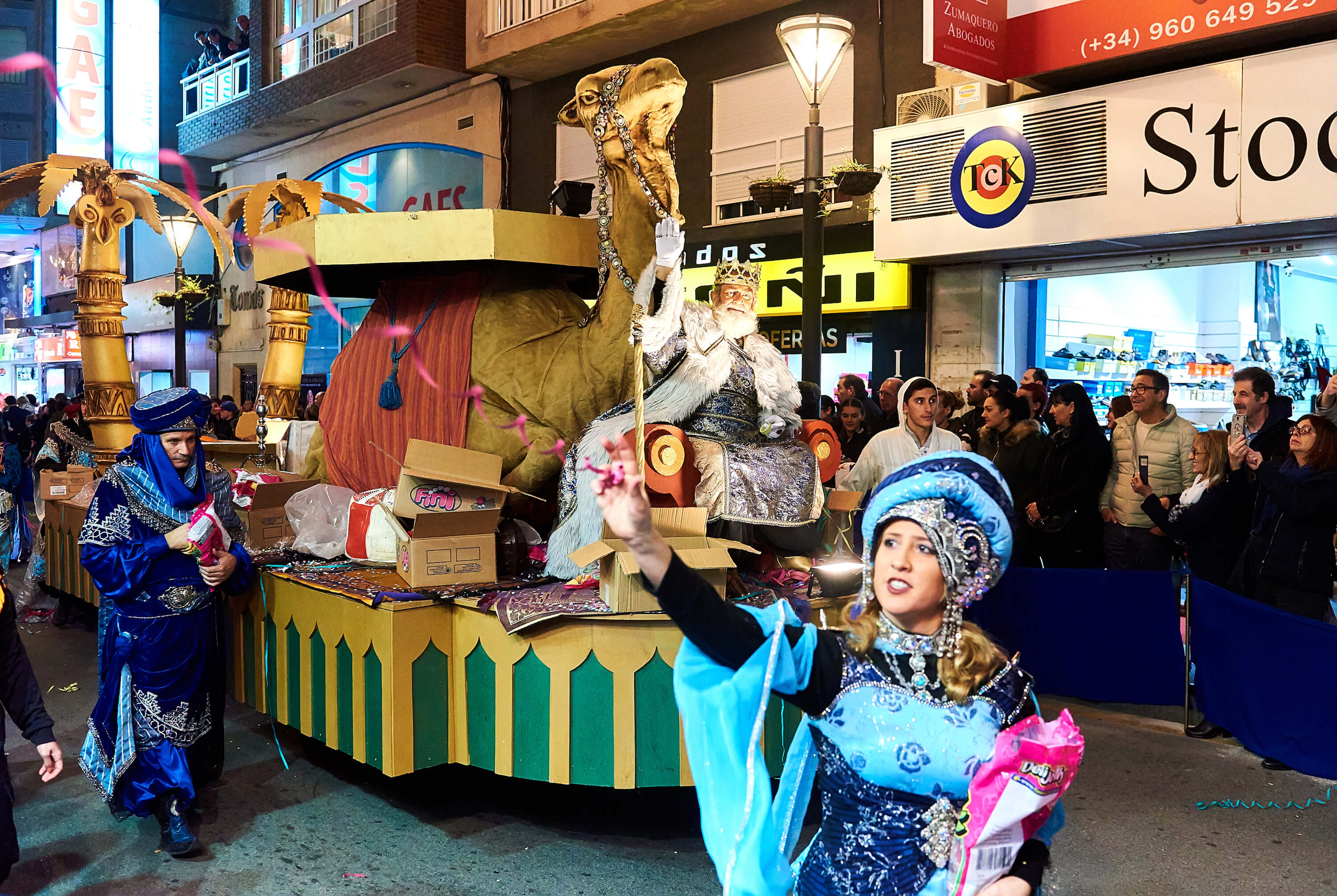 Christmas traditions in Barcelona - The Three Kings Parade