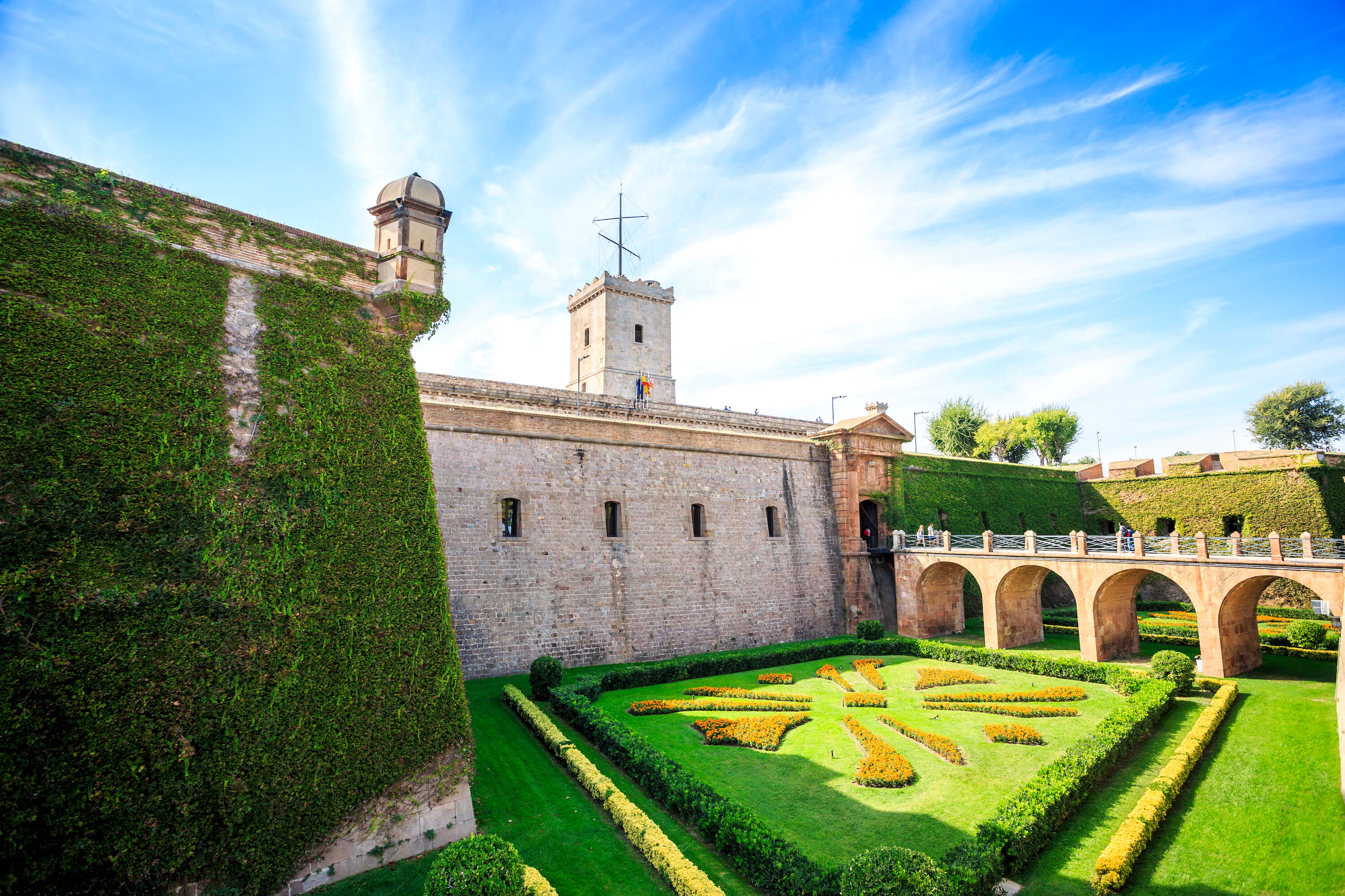 Free things to do in Barcelona - Montjuic Castle