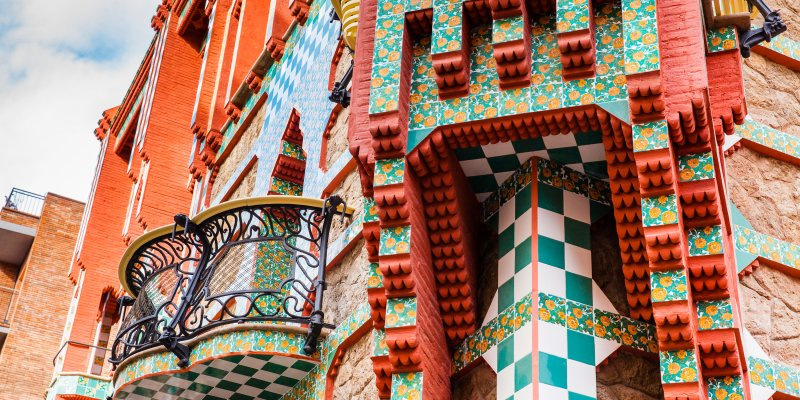 Self-guided Gaudi walking tour of Barcelona - Casa Vicens
