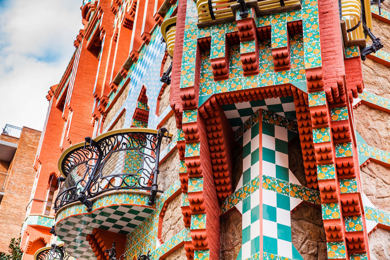 Self-guided Gaudi walking tour of Barcelona - Casa Vicens