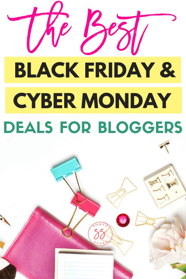 The best Black Friday and Cyber Monday deals for bloggers
