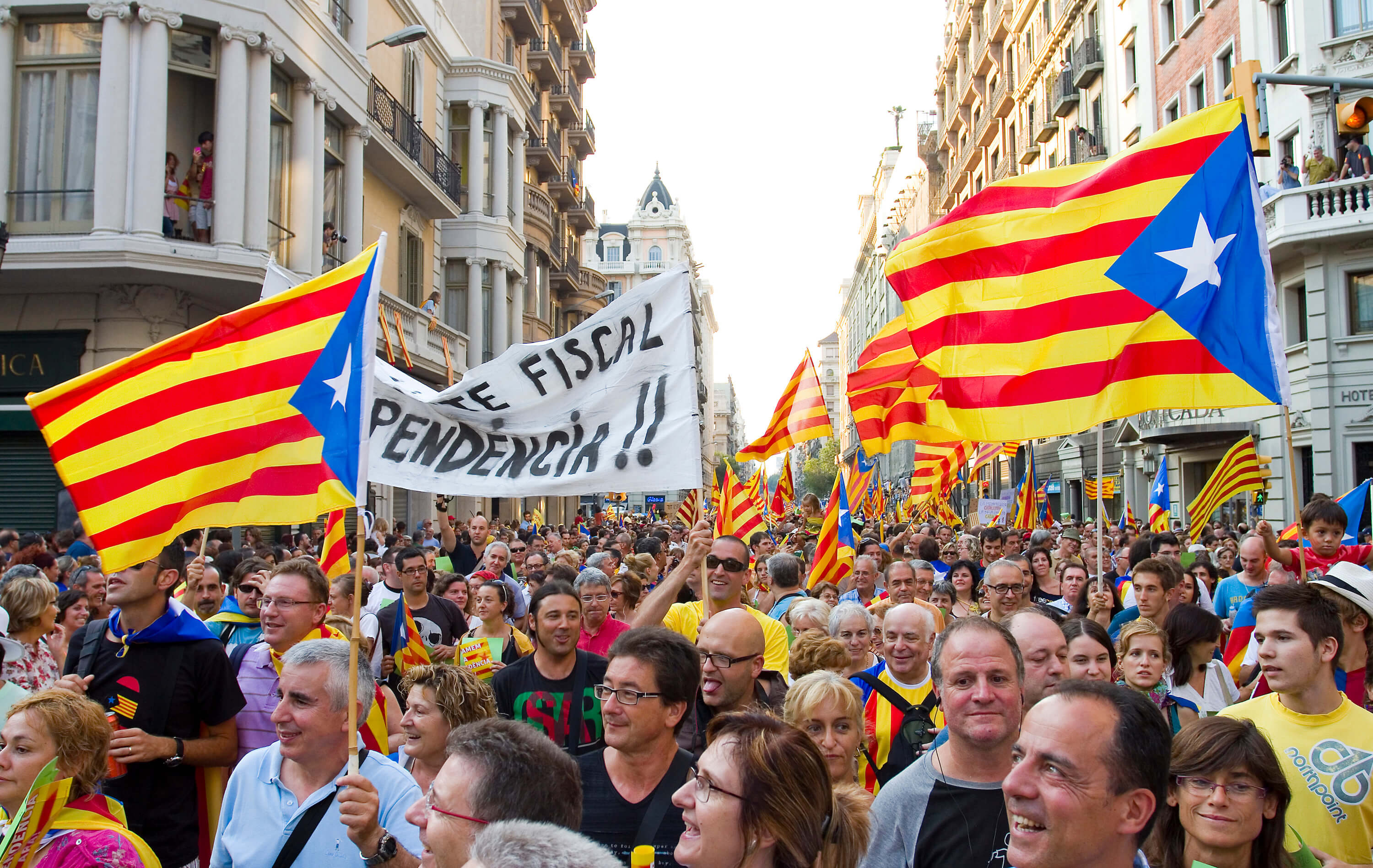 Tips for your first visit to Barcelona - Independence movement in Catalunya