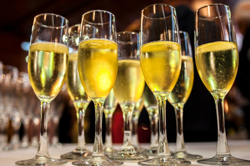 Tips for your first visit to Barcelona - cava on a table