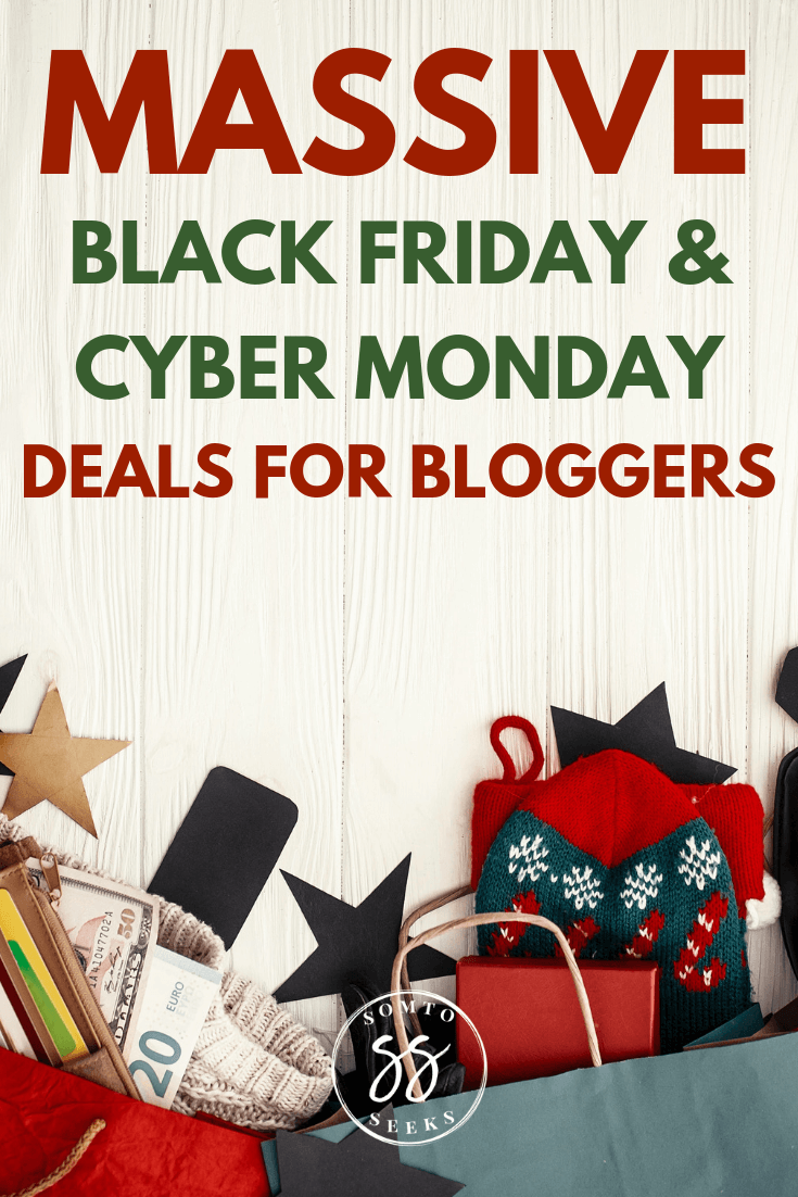 massive black friday and cyber monday deals for bloggers - feature image