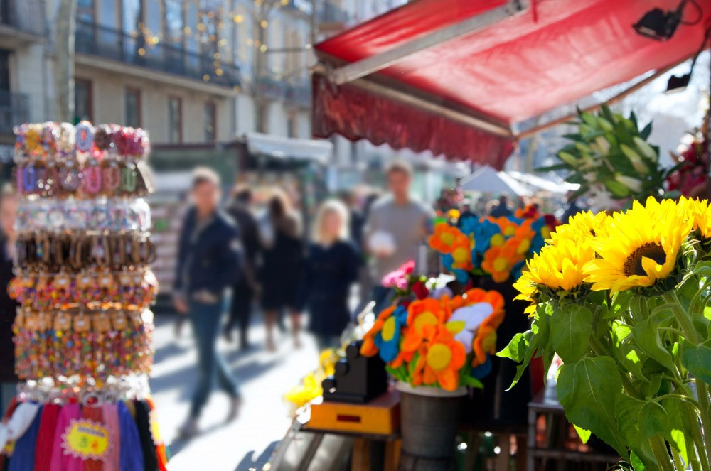 3 day Barcelona Itinerary - Las Ramblas Street