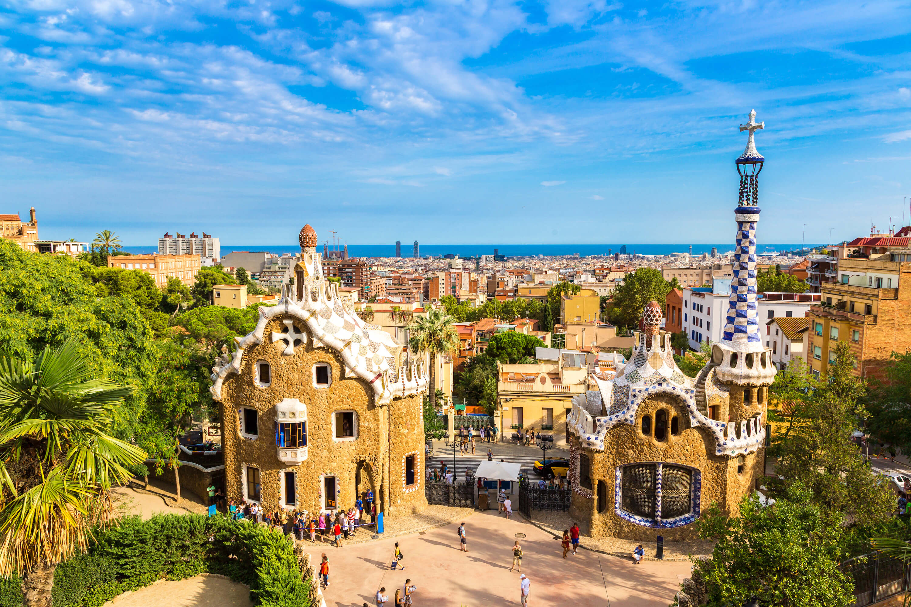 3 day Barcelona itinerary for first time visitors - Park Guell
