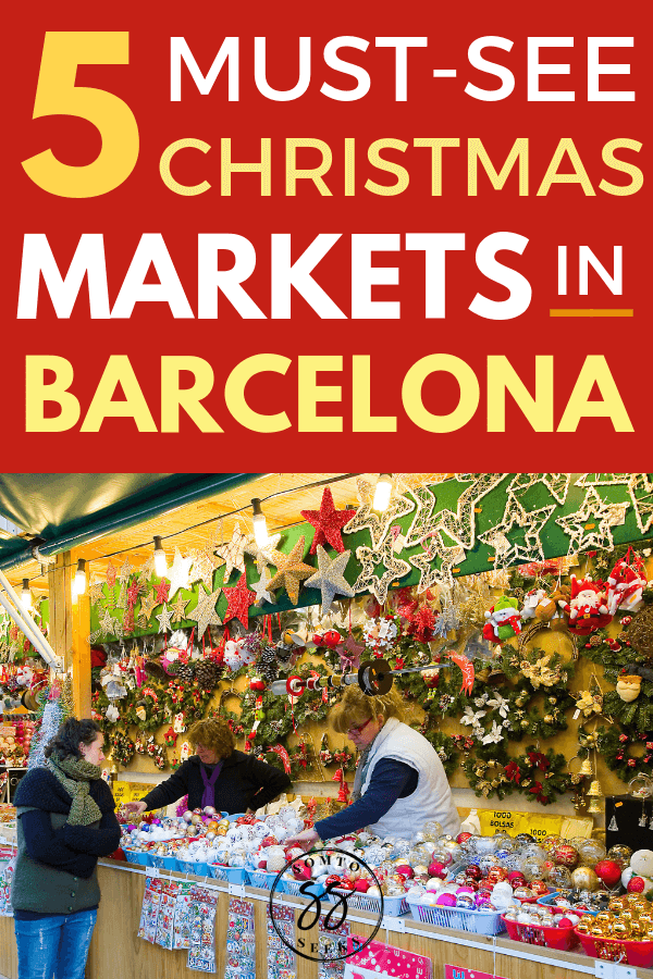 5 must-see Christmas markets in Barcelona