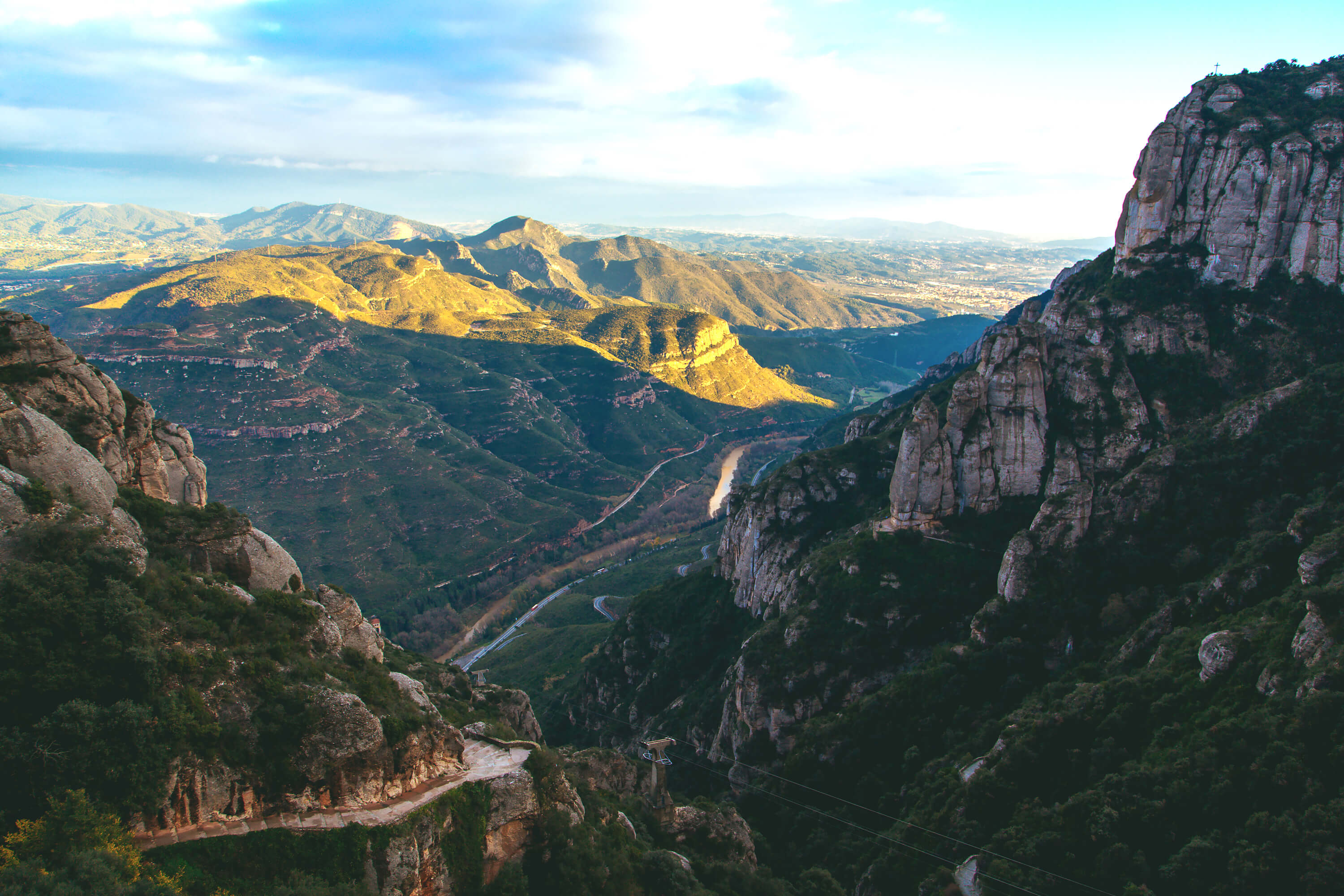 Best Day Trips From Barcelona - Sant Jeroni in Montserrat