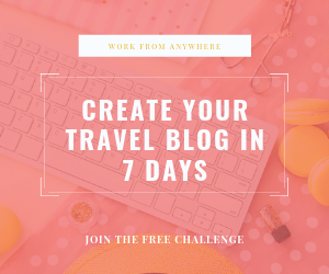 Create your travel blog in 7 days