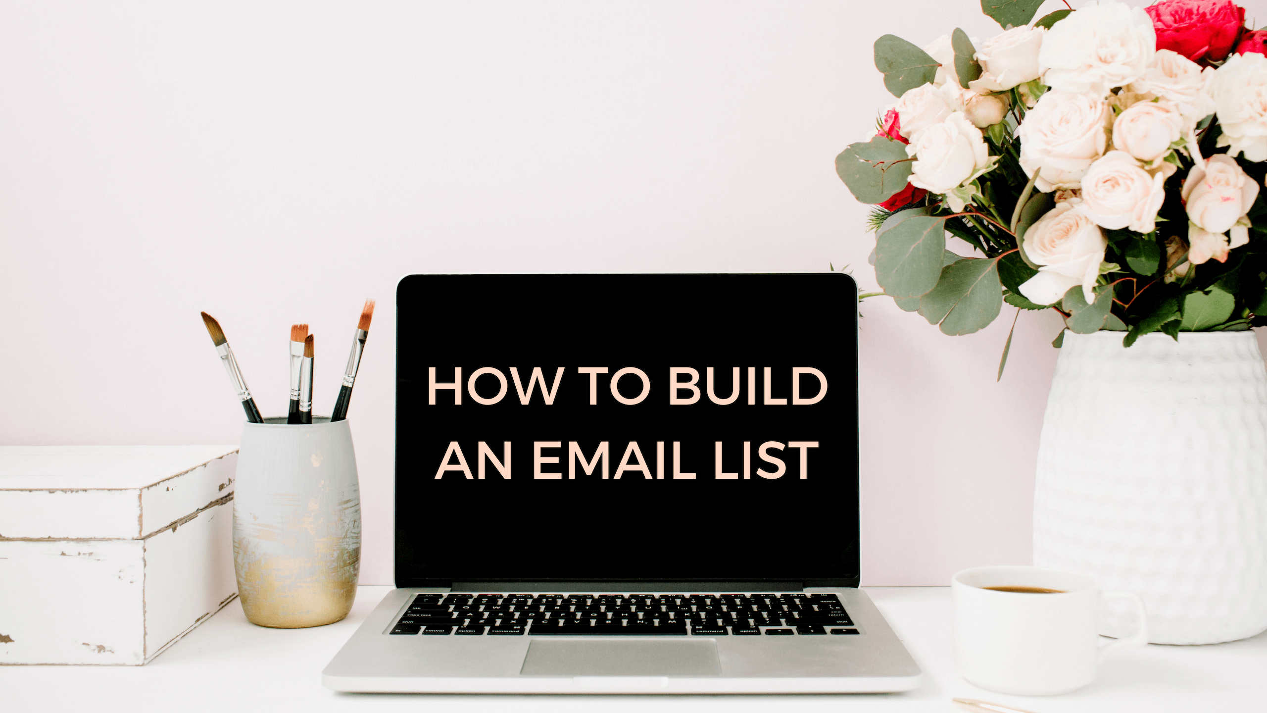 How to build an email list for your travel blog - feature image