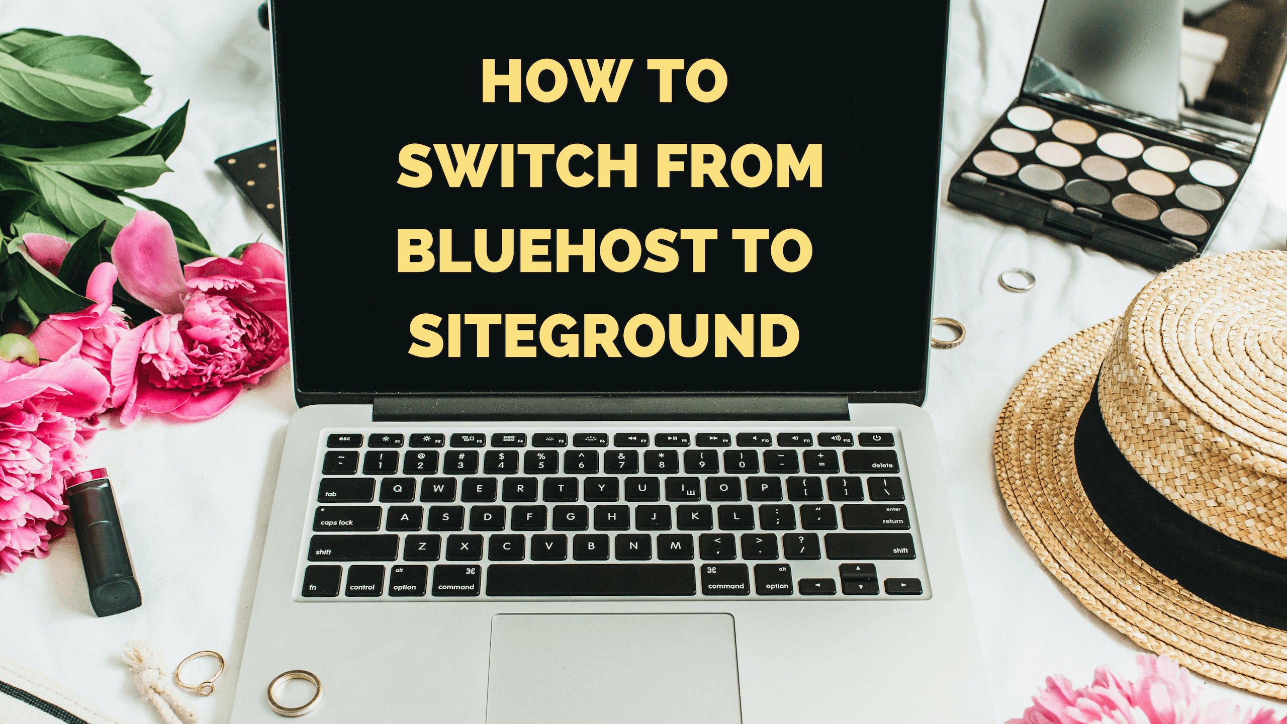 How to switch from Bluehost to Siteground - feature image