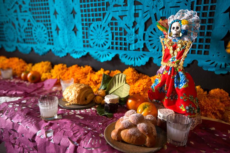 Day of the dead Oaxaca - dia de los Muertos celebrations