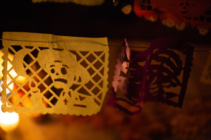 Day of the dead Oaxaca - spirits of the dead carvings