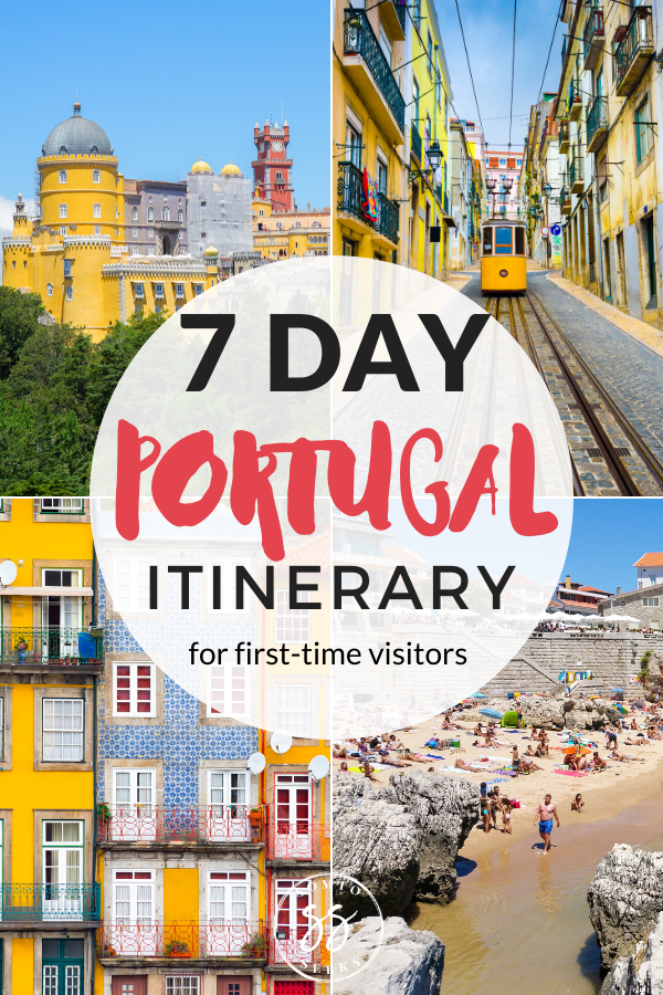 7 Day Portugal Itinerary