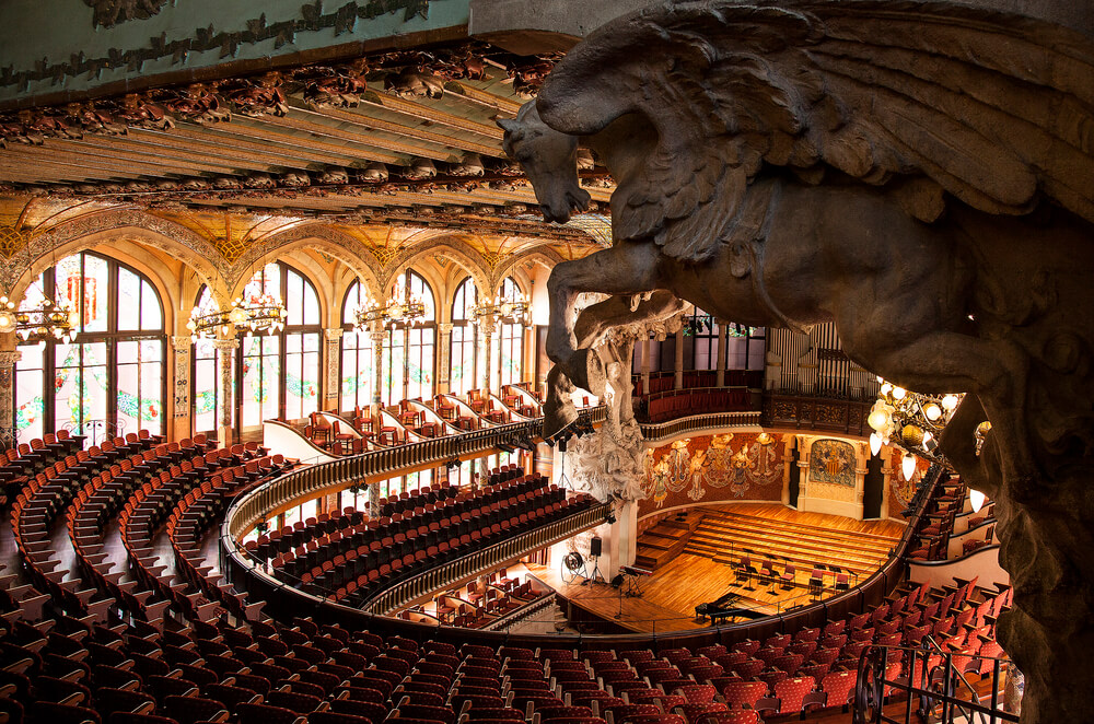 Fun things to do in Barcelona - Palau de la Musica Catalana