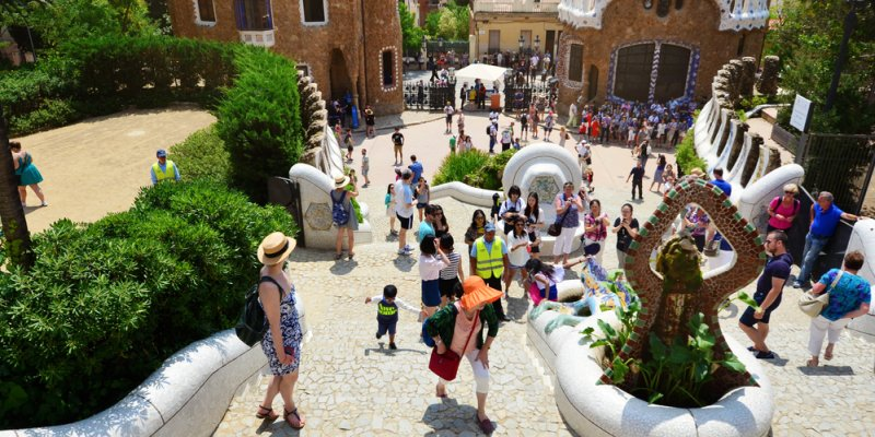 Fun things to do in Barcelona - Park Guell