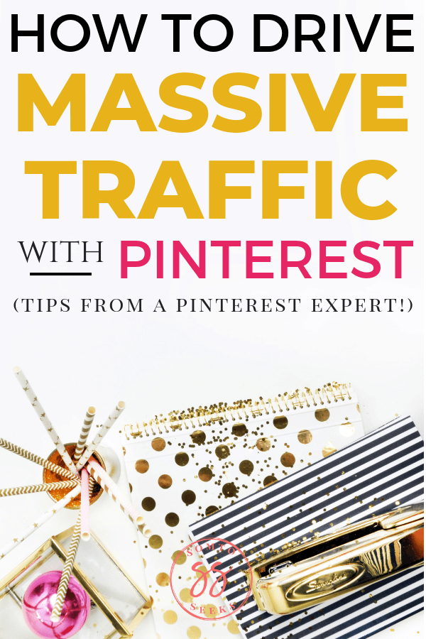 How to drive massive traffic with Pinterest