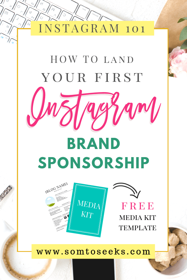 How to land your first Instagram Sponsorship