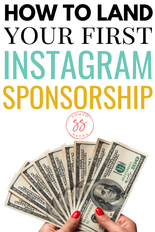 How to land your first instagram paid sponsorship