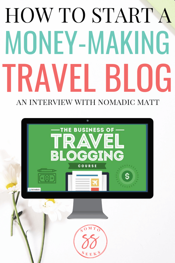How to start a money-making travel blog