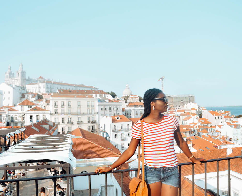 One week Portugal itinerary - Alfama Portas do Sol