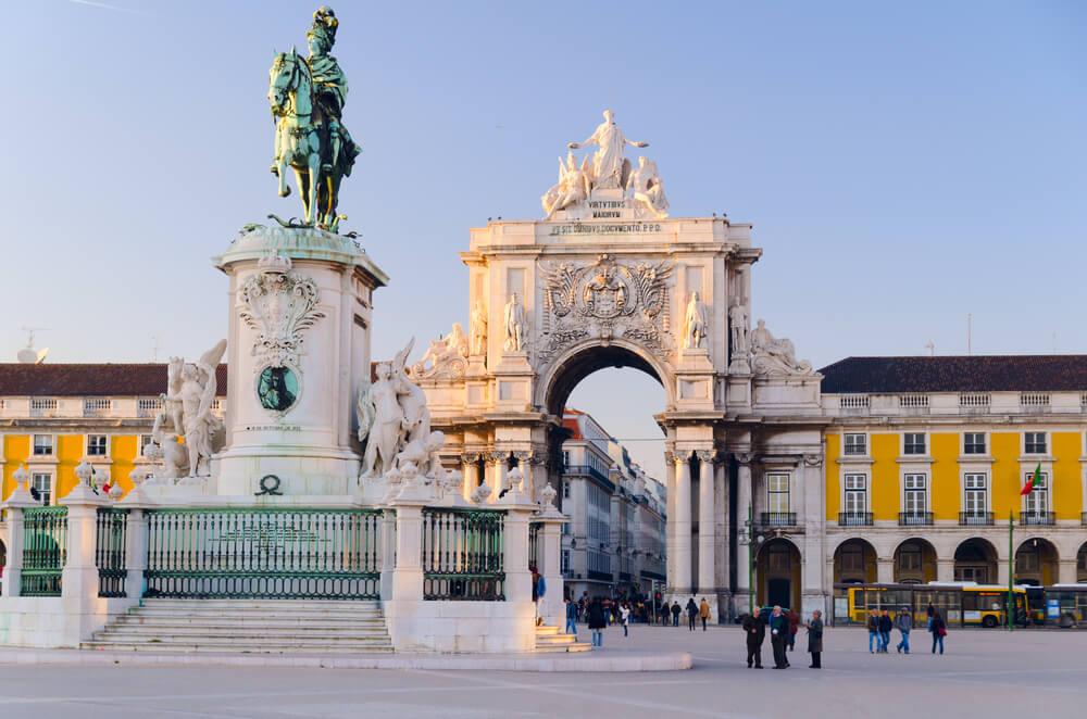 One week Portugal Itinerary - Praca do Comercio Lisbon