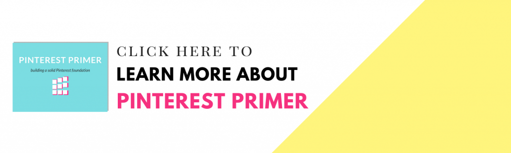 Pinterest Courses - Learn more about Pinterest Primer