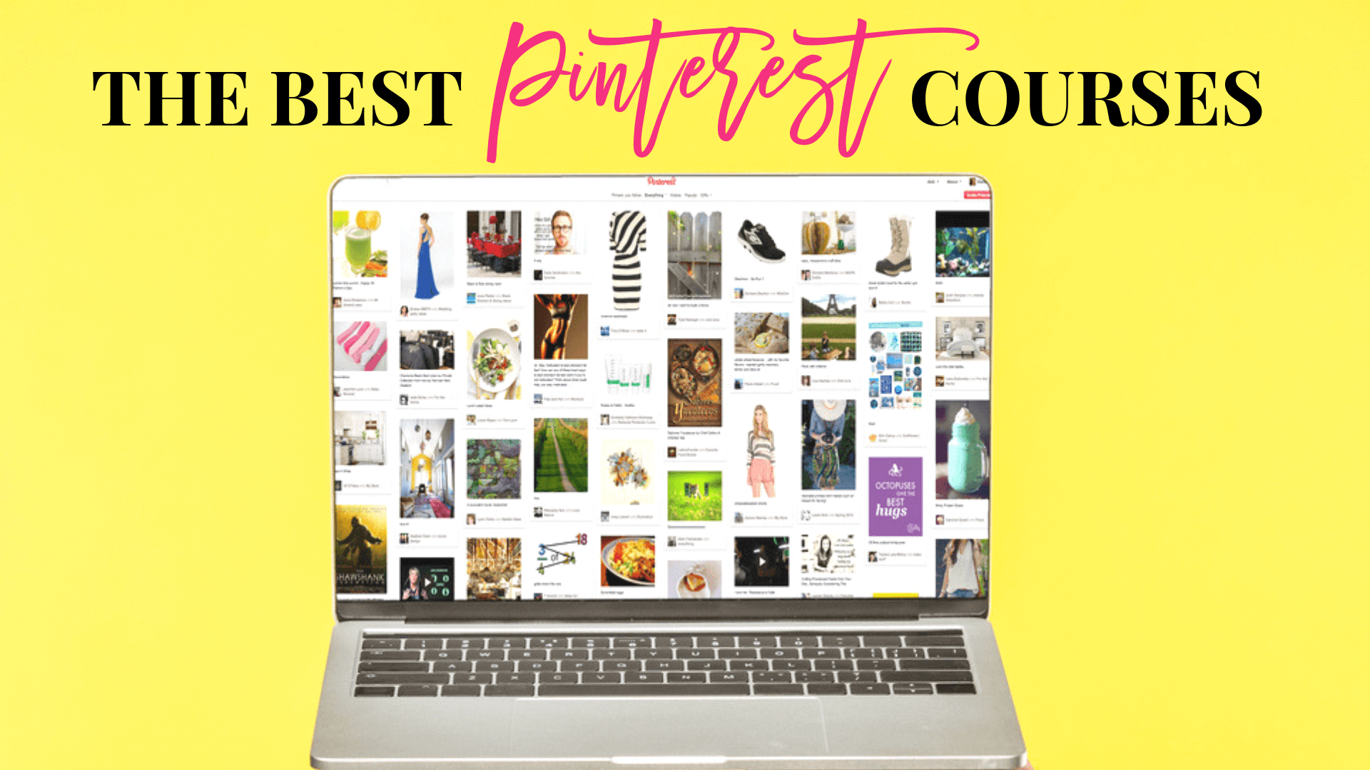 The Best Pinterest Courses for Beginner to Advanced Bloggers - Main Feature Image