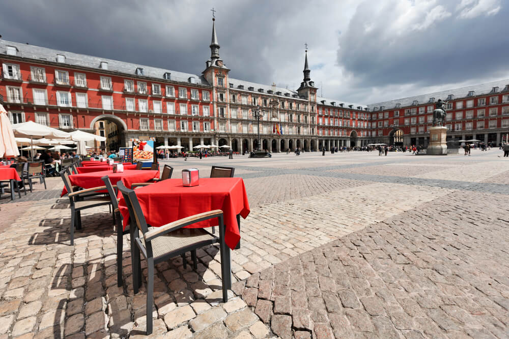 Plaza Mayor walking tour of Madrid with map