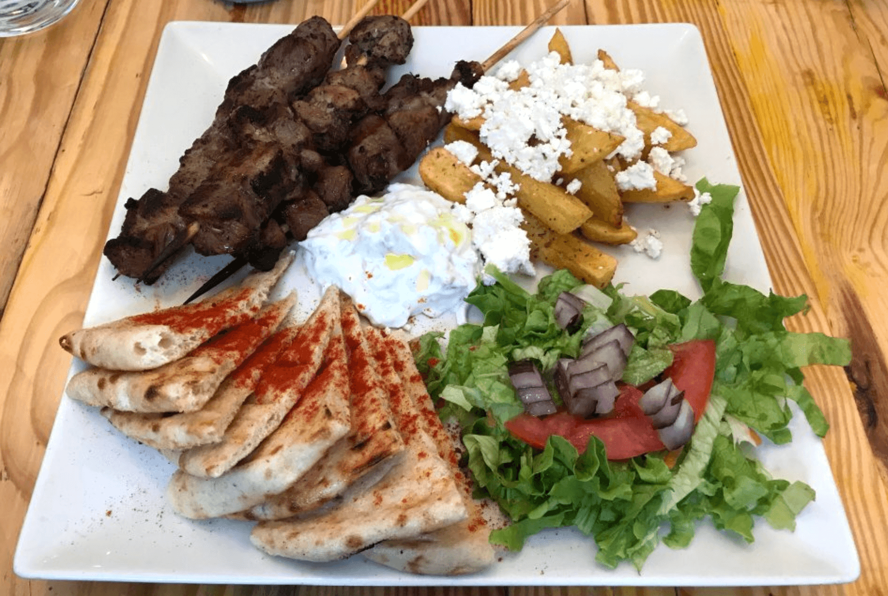 Where to eat in Madrid - Egeo Greek restaurant