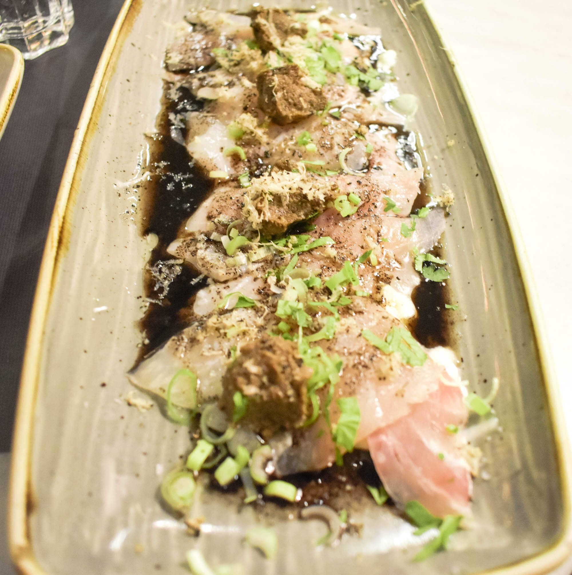 Where to eat in Madrid - Juana La Loca fish dish