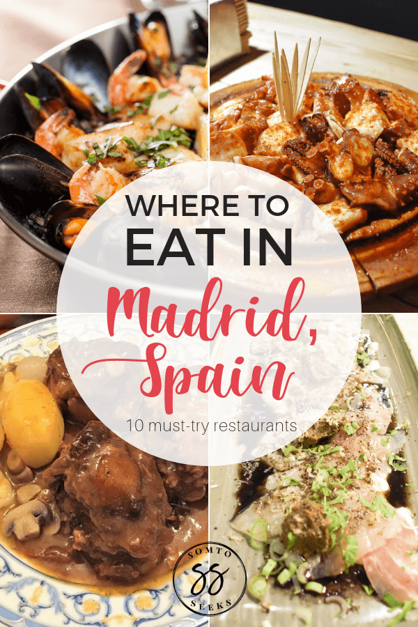 Where to eat in Madrid, Spain - 10 must try restaurants