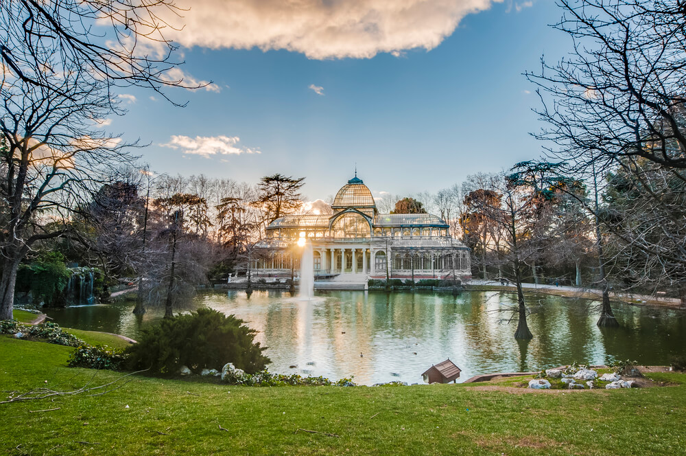 One day Madrid Itinerary - Retiro Park in Madrid
