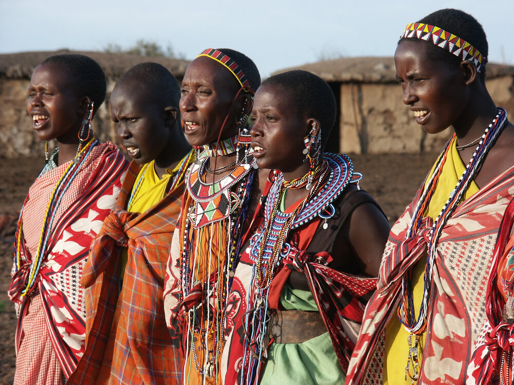 Traveling to normalize blackness - Maasai people