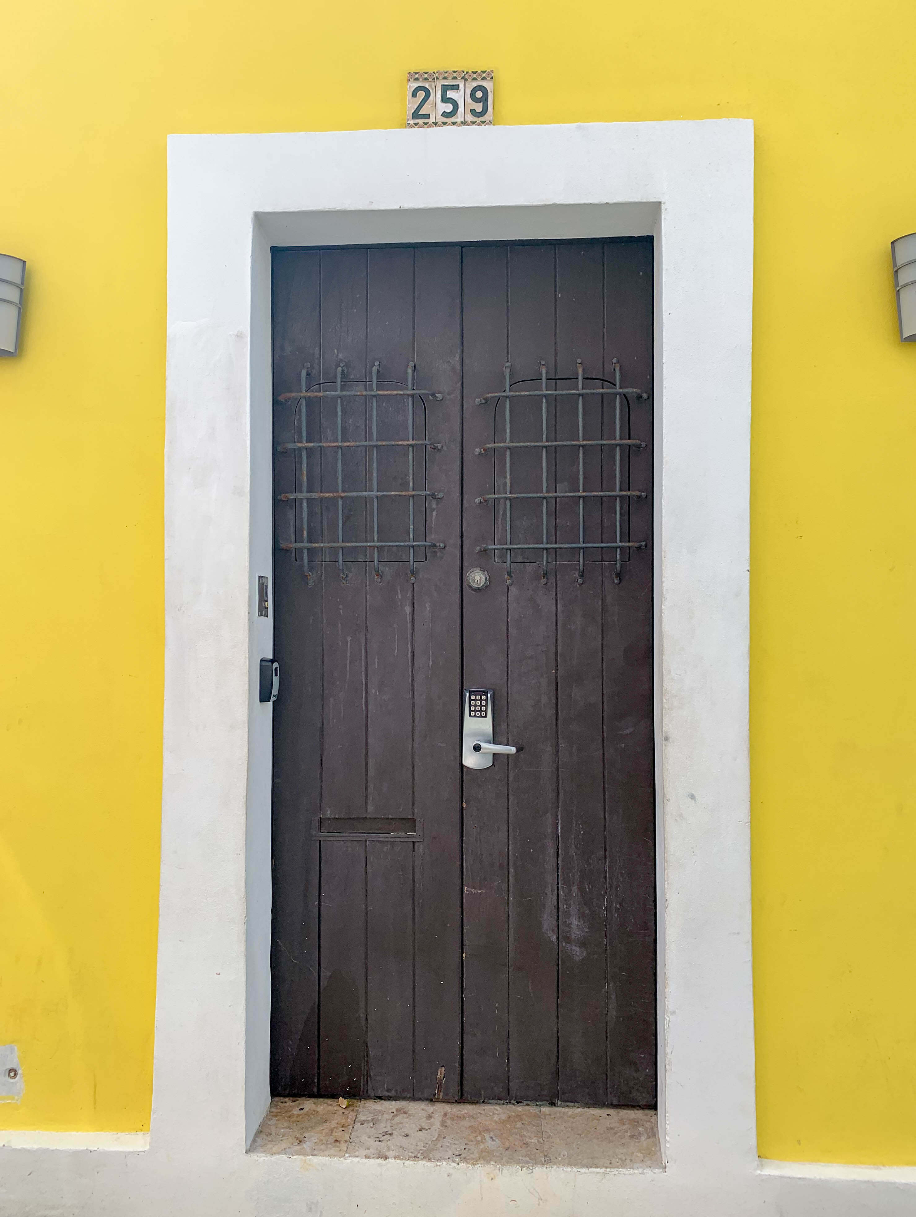 Outsite San Juan front door