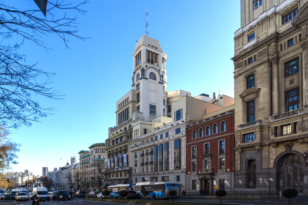 3 day Madrid itinerary - Circulo de Bellas Artes