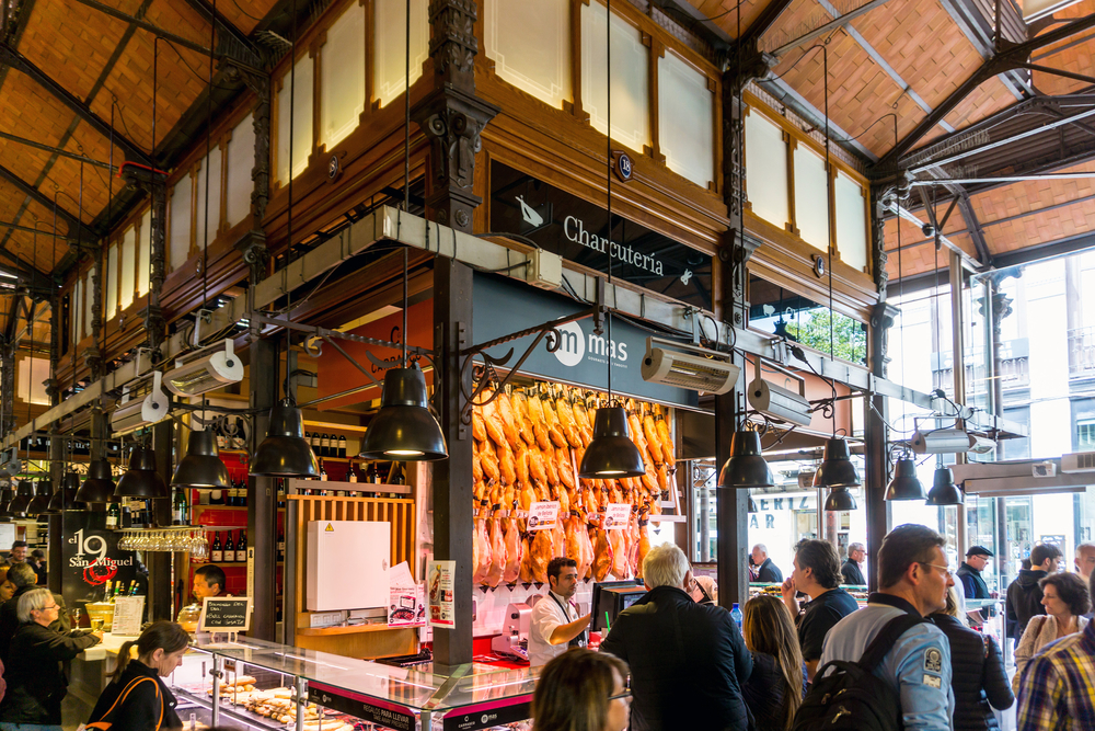 3 day Madrid Itinerary - Mercado de San Miguel