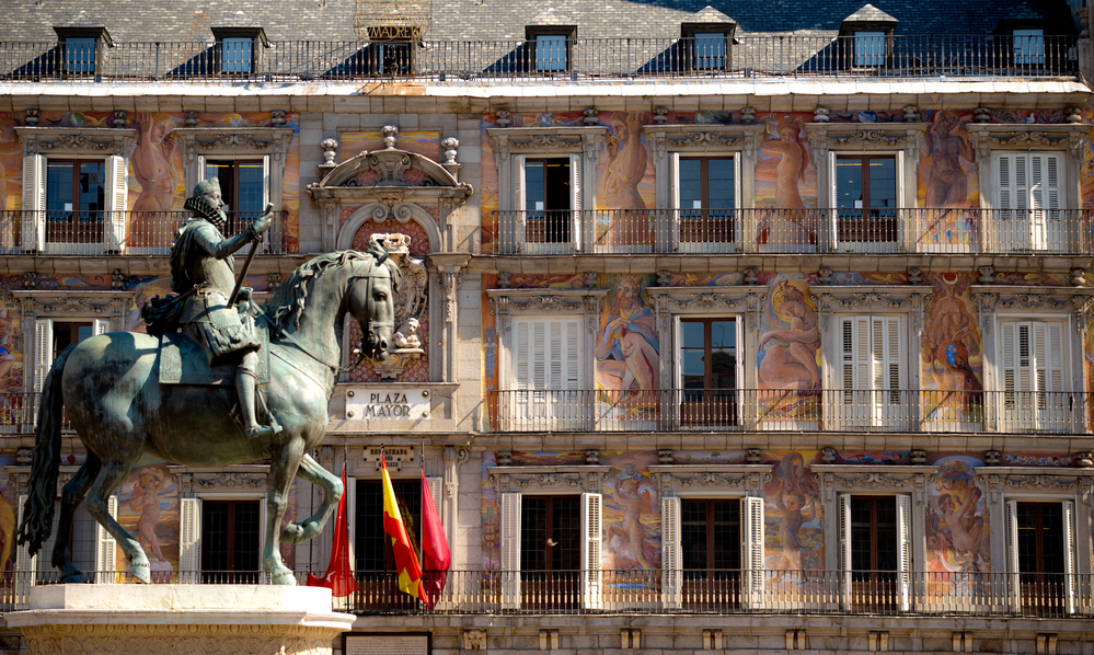3 day Madrid itinerary - Plaza Mayor