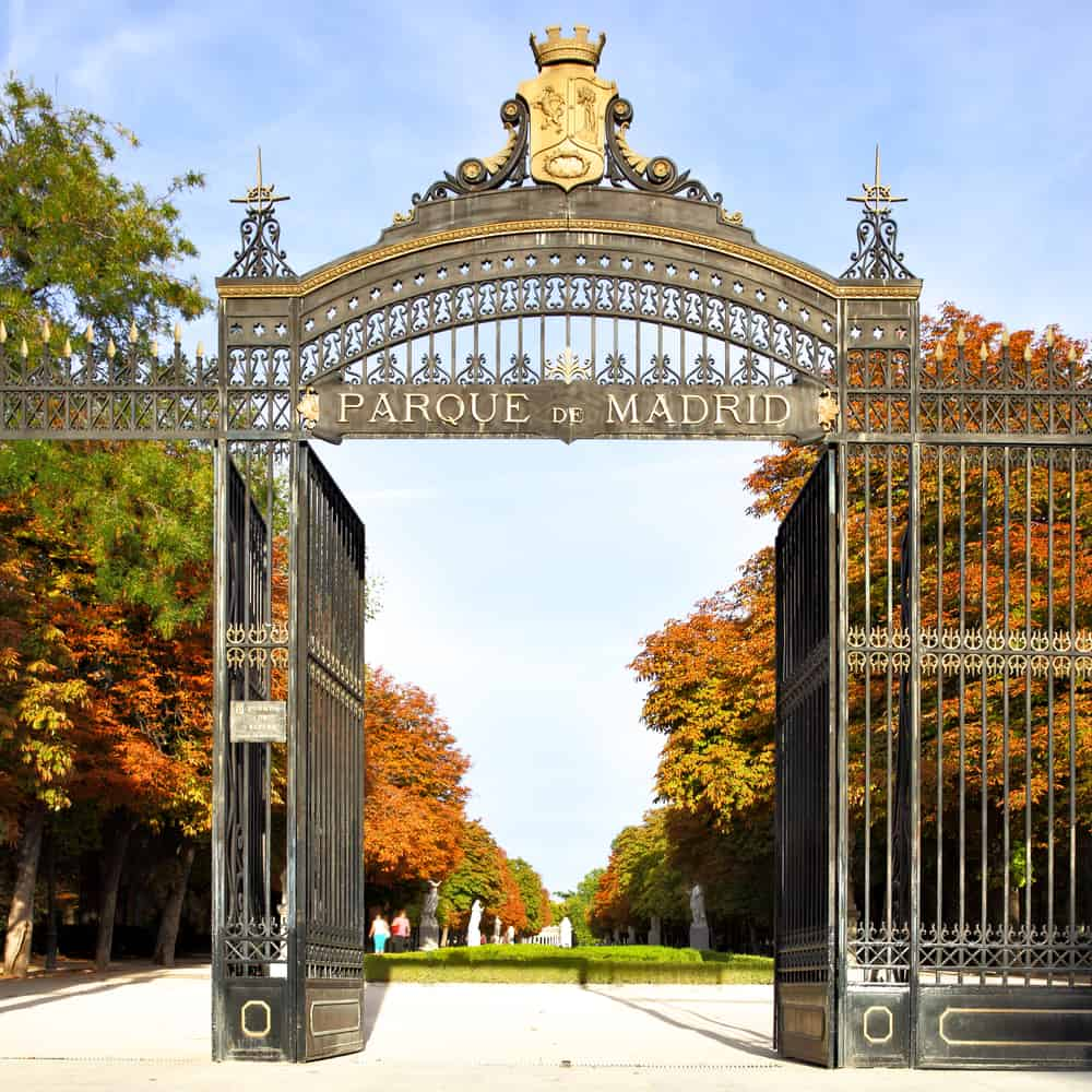 3 day Madrid itinerary - Buen Retiro Park