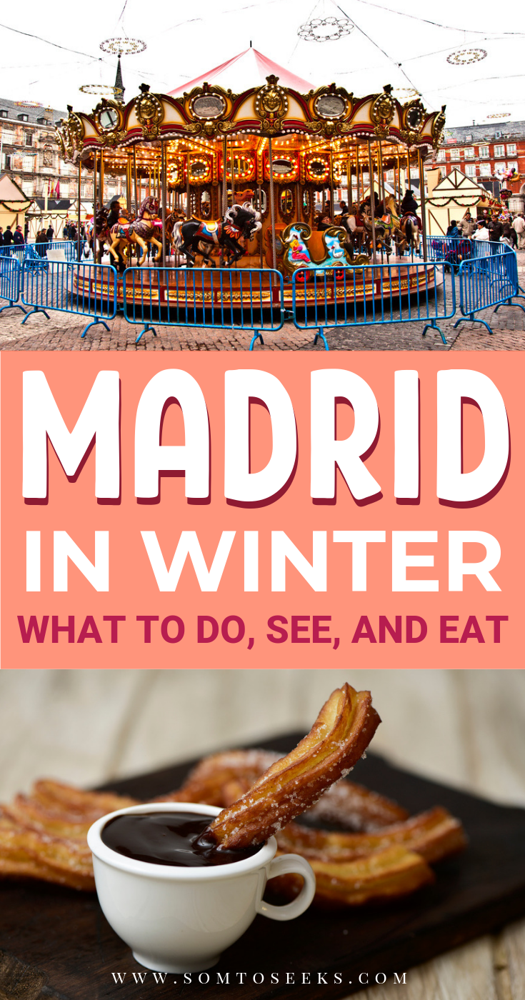 Madrid in winter - what to do, see, and eat
