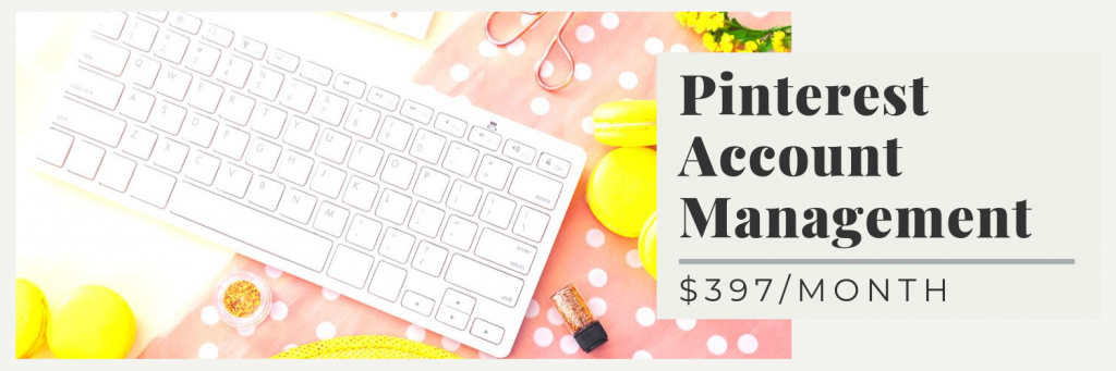 Pinterest Account Management Price