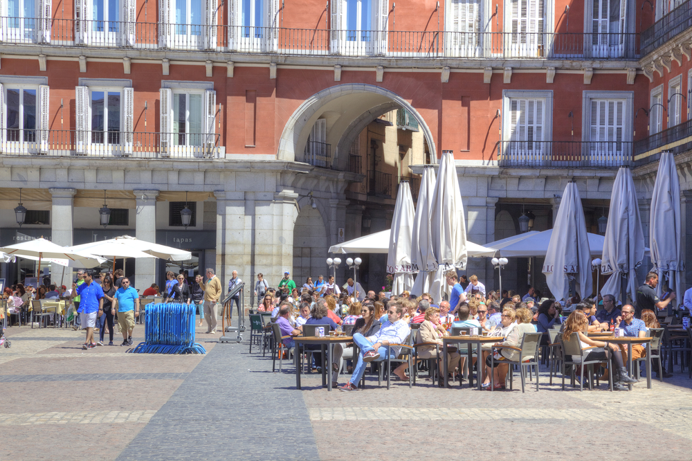 Tourist mistakes to avoid in Madrid - restaurants in Plaza Mayor
