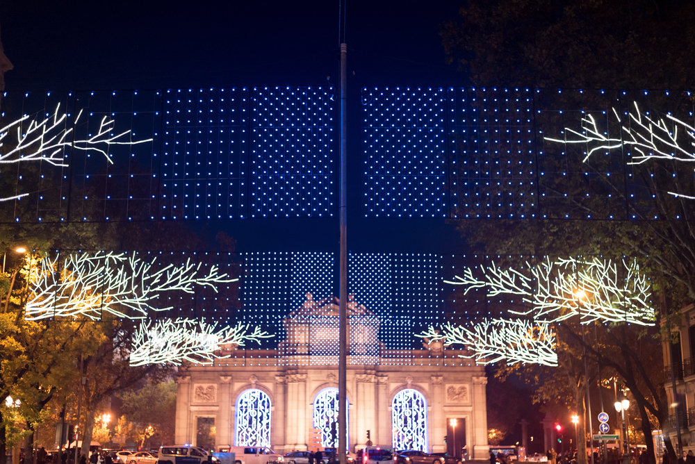 Things to do in Madrid in winter - Christmas lights