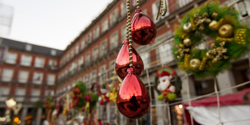 Things to do in Madrid in winter - Christmas market