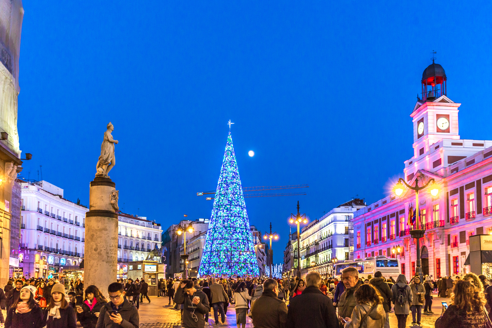 Things to do in Madrid in winter - Puerta del Sol